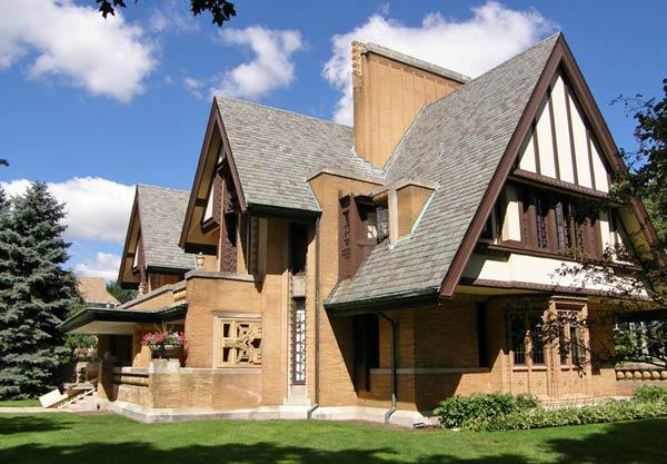 William H. Winslow House, River Forest, Illinois (Дом Вильяма X. Уинслоу