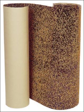 битумно-пробковая подложка из крафт-бумаги