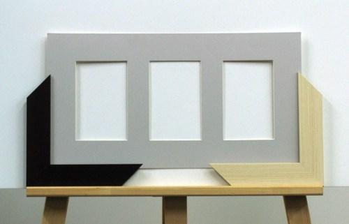 паспарту с тремя окнами