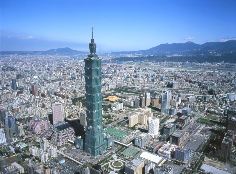Применение СМЛ при строительстве небоскрёба Тайбей-101 в Тайване