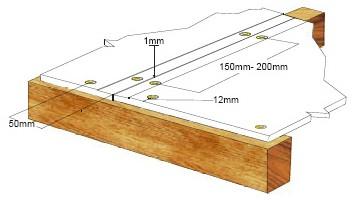 схема крепления СМЛ саморезами к каркасной конструкции