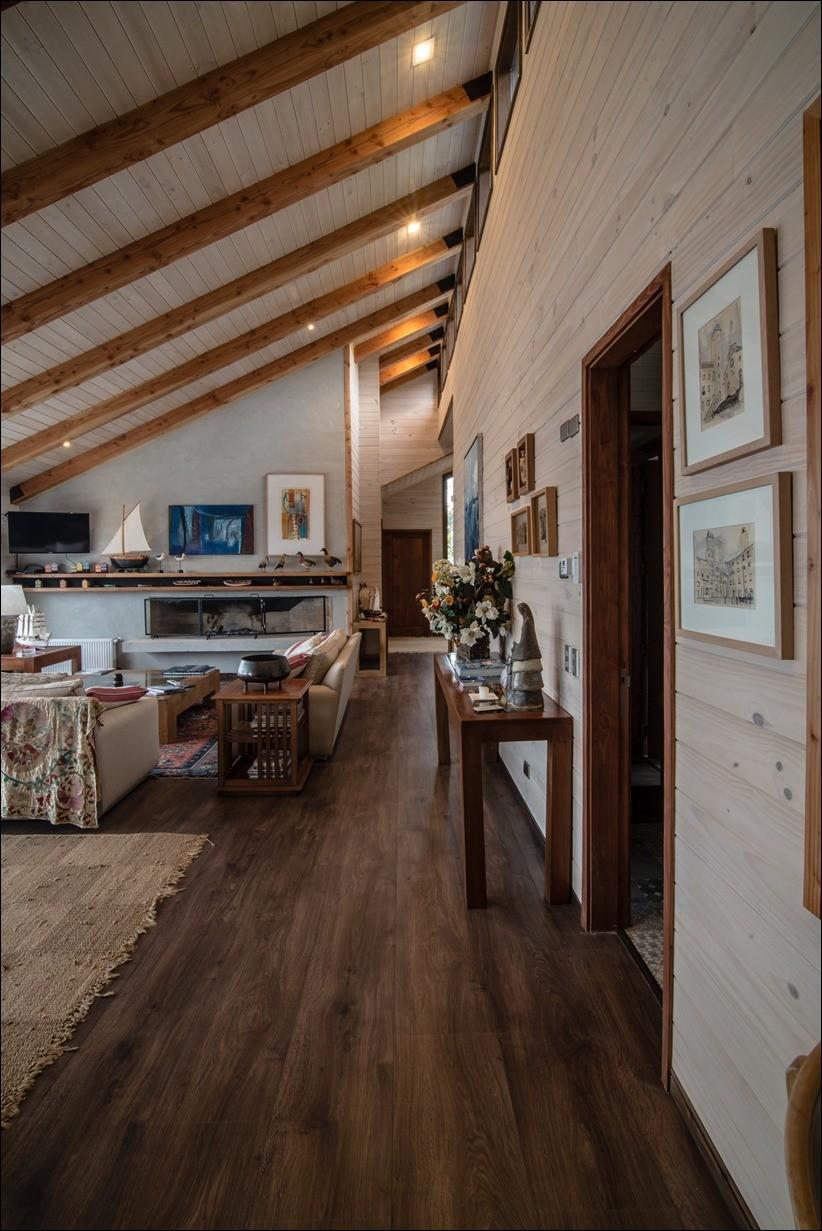 Уютный и элегантный дом ED у озера Араукания
